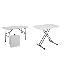 Cheaper price recatangle plastic folding table